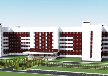 проект корпуса детской больницы